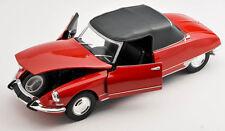 Livraison rapide CITROEN ds19 Convertible cabriolet à partir de 1961 rouge/red 1:24 welly neuf emballage d'origine