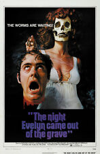 The Night Evelyn Came Out of the Grave (1971) Cult Horror movie poster print