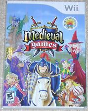 Nintendo Wii Game - Medieval Games (New)