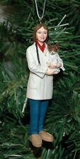 Lady, Female Veterinarian, Vet Christmas Ornament