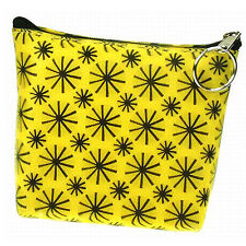Lenticular Yellow Universal Purse Bag Moving Black Pinwheel Wheel #R-008Y-PAVIA#