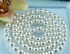 *84pcs Beads-10mm Cream/Ivory Color Faux Imitation Acrylic Round Pearl Spacer*