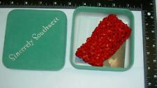 1.75 Inches Wide Coral Nugget Bead Stretch Elastic Bracelet Sincerely Southwest