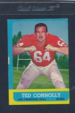 1963 Topps #139 Ted Connolly 49ers VG/EX 63T139-82616-1