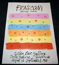 '67 Uruguay Block Print Esther Bear Gallery by Antonio Frasconi (1919-2013)(Mod)