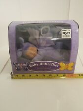 2001 Anne Geddes Baby Butterflies Bean Filled Collection Purple & Blue #526941