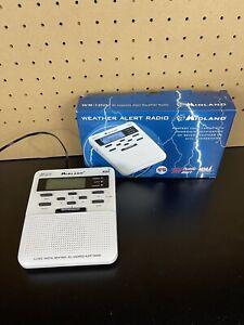 Midland WR-100 NOAA All Hazards Weather Public Alert Radio Storm Warning