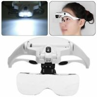 5Lens Dentist Loupes Dental Magnifier Glass Surgical Binocular Head LED Part