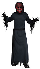 Adult Light Up Smoldering Devil Demon Satan Costume One Size