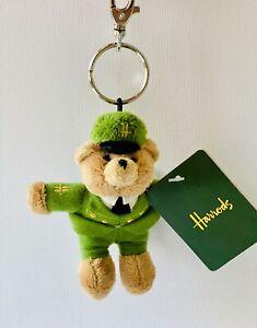Harrods Greenmen Bear Keyring 2019-New & Rare