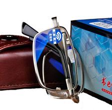 Folding Anti Blue light Stainless steel High nickel Reading glasses for Reader