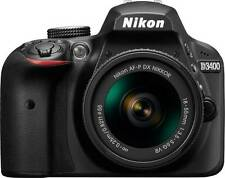 Nikon DSLR D3400 Camera with Kit Lens AF-P 18-55mm f/3.5-5.6G VR (Free Bag+Card)