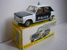 Simca 1100 Police Dinky Toys 1450 MECCANO-FRANCE 1/43° + boîte d'origine