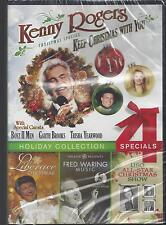Kenny Rogers/Garth Brooks/Liberace Christmas/Fred Waring/USO All-Star NEW DVD