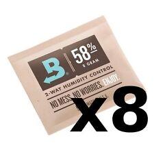 Boveda 58% RH 8 gram Humidipak - 8 Pack - 2-way Humidity Control (8g) RM24