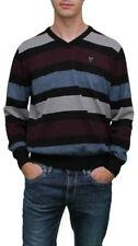 Gestreifte normale Herren-Pullover & -Strickware in Größe 52
