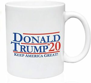 DONALD TRUMP Keep America Great 2020 Coffee Mug white Cup of Tea Funny 11Oz