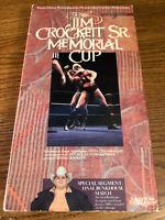The Jim Crockett Sr. Memorial Cup NWA WWE WWF Wrestling VHS Video Tape Used RARE