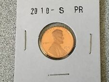 2010 S GEM PROOF LINCOLN SHEILD CENT PENNY