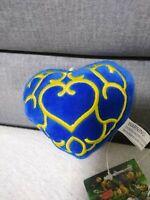 The Legend of Zelda Stofftier Herzcontainer Blaues Herz Plüsch Figur 10 cm
