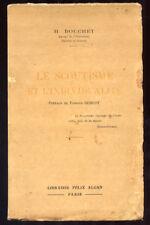H. BOUCHET, LE SCOUTISME ET L'INDIVIDUALITÉ (1933) - RARE