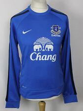 BNWT Everton Suéter Para Hombre Nike Entrenamiento Fútbol Medio Nuevo