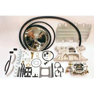 Rover V8 4 barrel Weber Edelbrock carb carburettor manifold  performance kit
