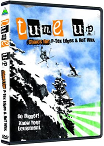 Tune up Clinics for P-Tex, Edges & Hot Wax (DVD) DISC ONLY NO CASE NO COVER ART