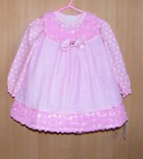 Zartes Kleidchen für Taufen Trägerkleid Blumenmädchenkleid Taufkleid Gr. 98