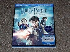 Harry Potter and the Deathly Hallows: Part II Blu-ray/DVD 2011 3-Disc Set New