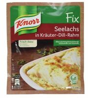 3 x Knorr Fix Seelachs in Kräuter-Dill-Rahm - New & Fresh from Germany !