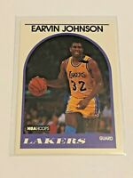 1989-90 NBA Hoops Basketball #270 - Magic Johnson - Los Angeles Lakers