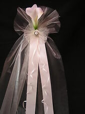 Pew End Bows Wedding Church Venue Decorations Personalised or plain 'CHARLOTTE'