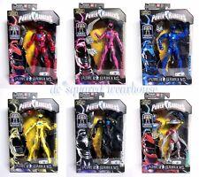 Power Rangers Legacy Megazord BAF Red Pink Blue Yellow Black Alpha TRU Exclusive