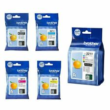 Brother LC3211 Cyan, Magenta, Yellow, Black & Value Pack Lot Inkjet Cartridges