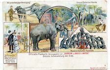 Circus Barnum & Bailey Limited Elephants