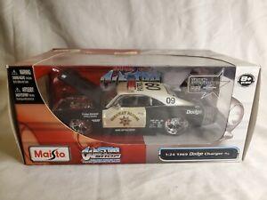 1969 Dodge Charger R/T Highway Patrol 1:24 Maisto Custom Shop