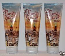 3 Bath & Body Works New York Big Apple Caramel Ultra Shea Body Cream 24 Moisture