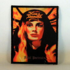 KING DIAMOND Fatal Portrait (BLACK Border Printed Small Patch) (NEW)
