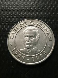 ARGENTINA 1999 MENEM  COMMEMORATIVE COIN !
