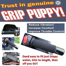 Grip puppies puppy motorcycle & scooter handlebar grip covers improved comfort