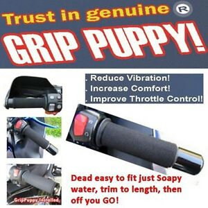 GRIP PUPPIES puppy comfort hand grips fits all motorcycles includes Heated Grips