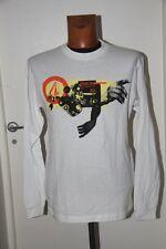 Original  Tee Shirt Slim  VOLCOM  Gearhouse  Blanc impirmé  T : S  neuf