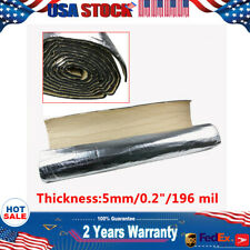 Strong While Flexible Sound Deadener Material Heat Shield Insulation Mat 32 Sqft