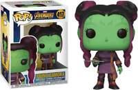 Funko Pop n°417 - Marvel Avengers Infinity War - Young Gamora Booble Head