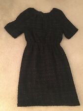 Tucker For Target Black glitter boucle Texture Dress Size XS