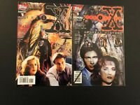 X-Files 1 and Annual 1 High Grade Lot Set Run C34-81