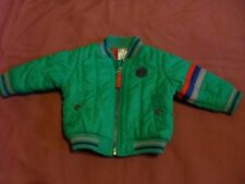 Target Baby size 3-6 months green/red & blue trims jacket/parka in VGC