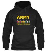 Vietnam Veteran Army - Gildan Hoodie Sweatshirt