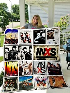 Inxs Quilt Blanket Gift For Fan Bedding Decoration